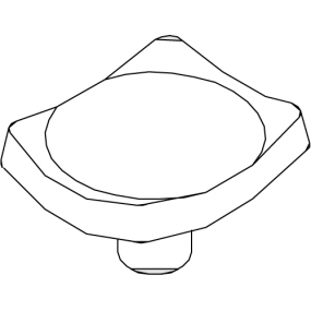Support plate X