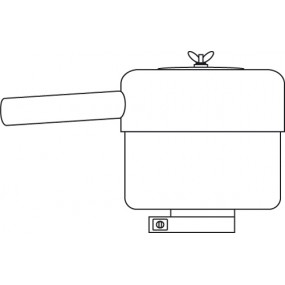 Noise reducer for discharged air