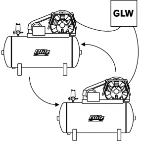 Electronic base-load change-over switch GLW 4-15 Y/D-Start