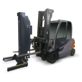 Hydrolift s2 column with fork lift ral7016