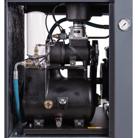 Compact screw compressor monsun fast from the front