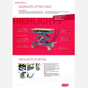 Lifting table master gear s3 1 0  127524